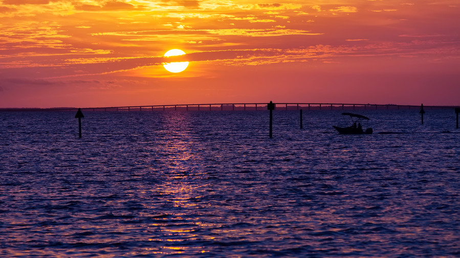 Destin Beach Sunset