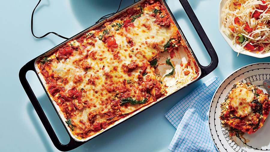 Our 50 healthiest recipes of all time southern living lean lasagna forumfinder Gallery