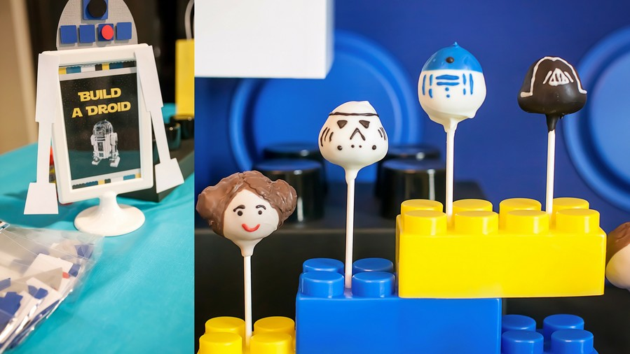 Creative Kids' Birthday Party Lego Star Wars 2
