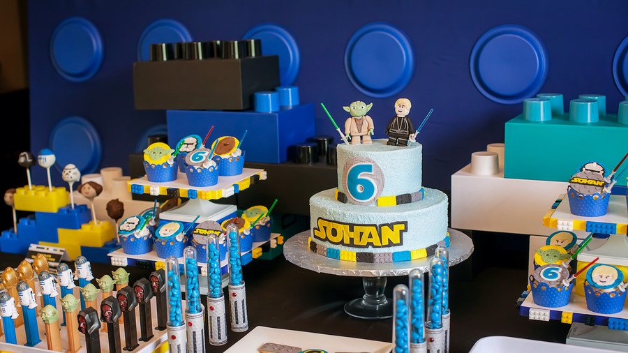 Creative Kids' Birthday Party Lego Star Wars 1