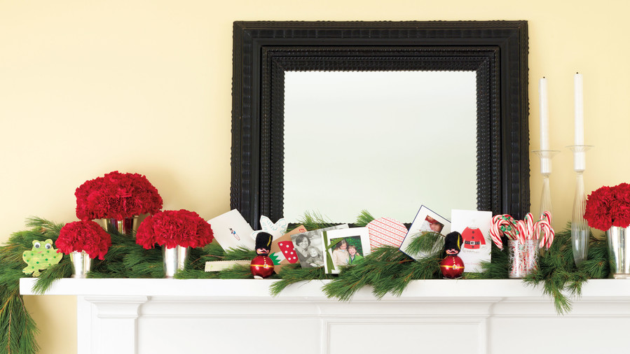 personal colorful - Mantelpiece Christmas Decorations