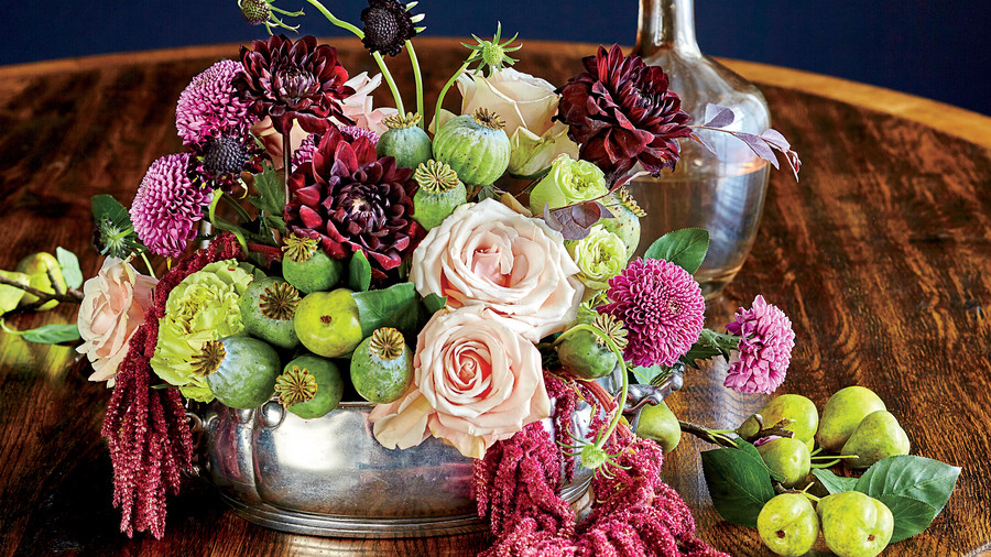Oval Table Centerpiece