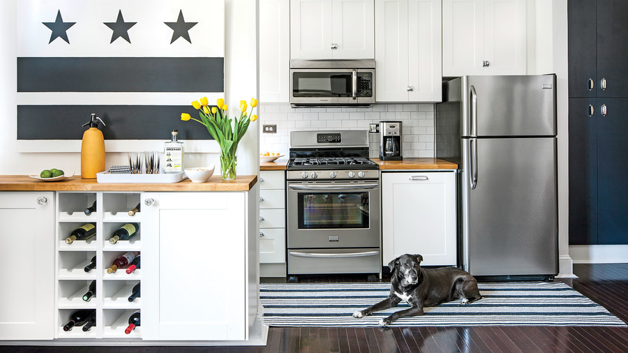 Tiny Kitchen Inspiration That Youll Want To Pin Southern Living