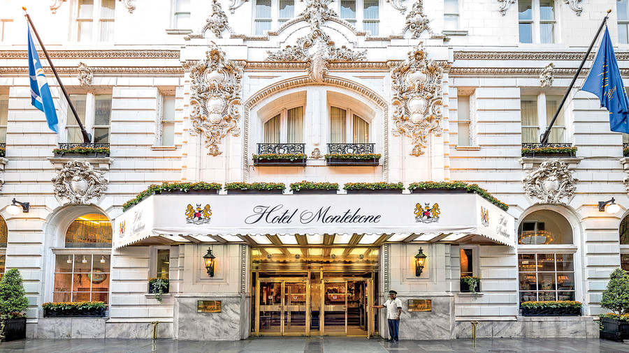 Hotel Moteleone in New Orleans, LA