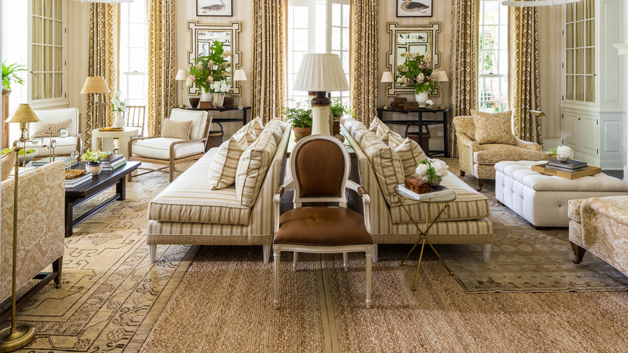 Shades of Brown Living Room