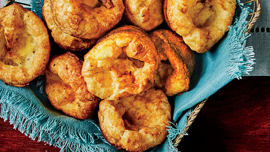 Appetizer Cornmeal Popovers