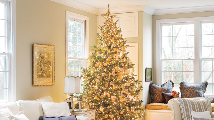 vintage christmas decorations christmas trees - Southern Living Christmas Decorations