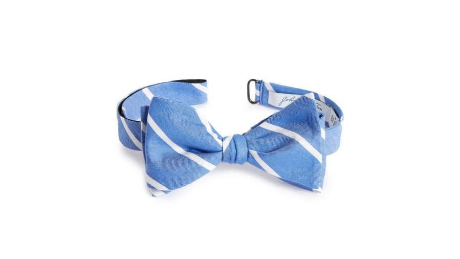 Kentucky Derby Bow Tie John W. Nordstrom Stripe Silk Bow Tie
