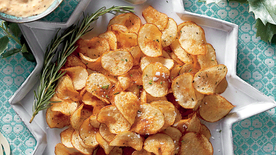 Rosemary Salt-and-Vinegar Chips