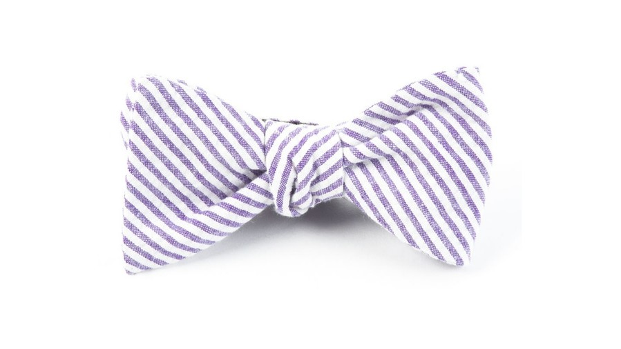 Kentucky Derby Bow Tie The Tie Bar Seersucker
