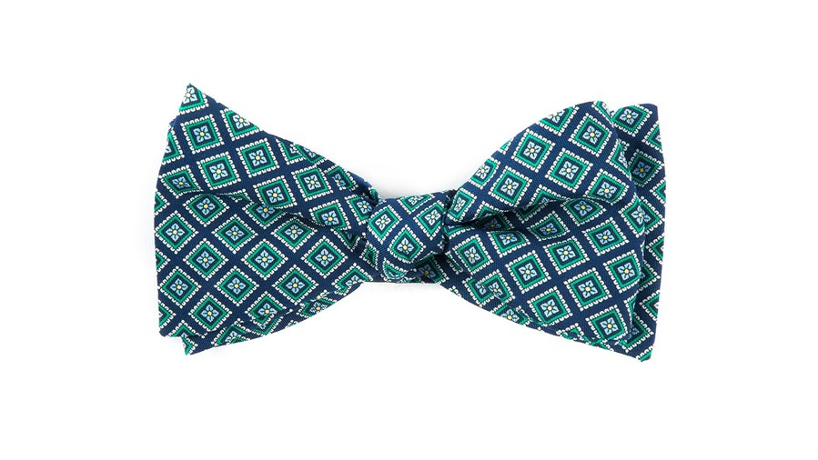 Kentucky Derby Bow Tie The Tie Bar Silk Squarework