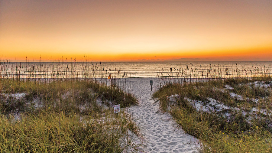 St. Joe Peninsula Beach Sunset