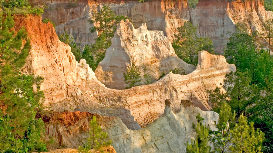 "Visit the ""Little Grand Canyon"": Providence Canyon State Park"