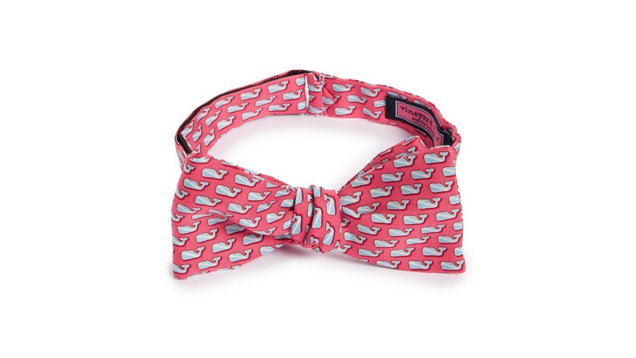 Kentucky Derby Bow Tie Vineyard Vines Diver Whale Silk Bow Tie