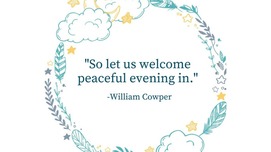 Sleep Tight Quotes William Cowper