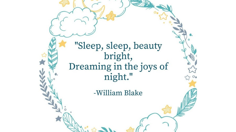 Sleep Tight Quotes William Blake