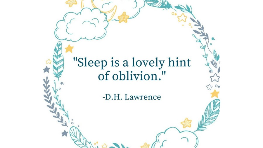 Sleep Tight Quotes D.H. Lawrence