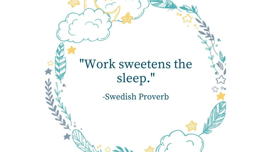 Sleep Tight Quotes Swedish Proverb