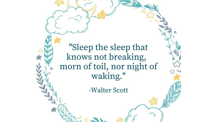 Sleep Tight Quotes Walter Scott