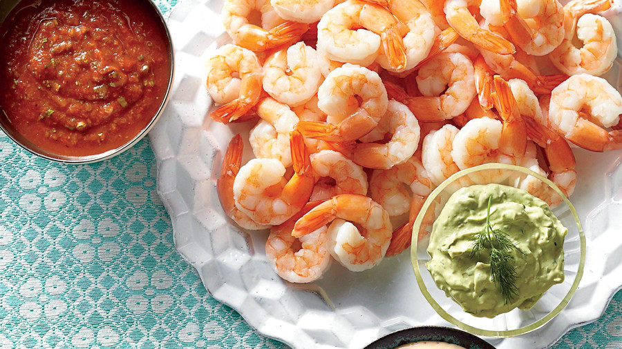 Golden Globe Appetizers Contemporary Shrimp Cocktail
