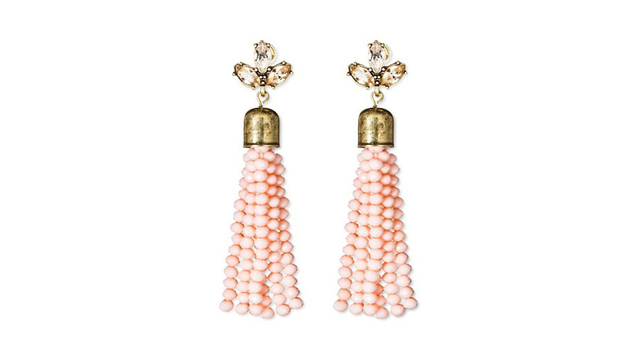 SugarFix Beaded Tassel Earrings