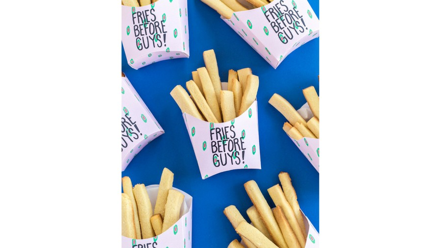 Best Valentine's Day Treats Online Fries before Guys
