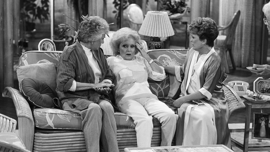Dorothy Golden Girls silent treatment