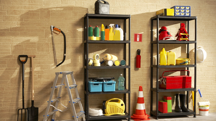 Clutter Free Home the basement