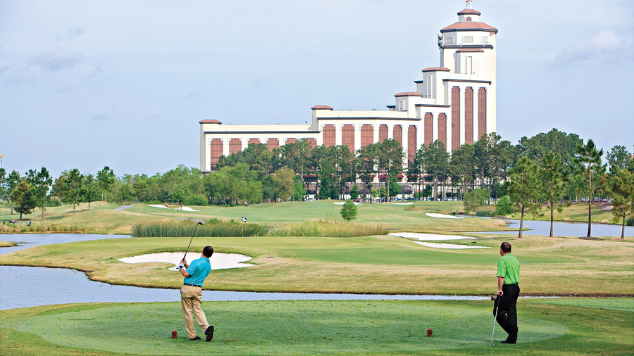L'Auberge Lake Charles Casino Resort in Louisiana Golfers