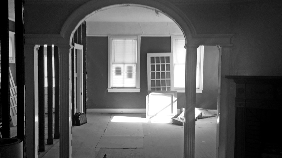 Charleston Victorian Living Room Before