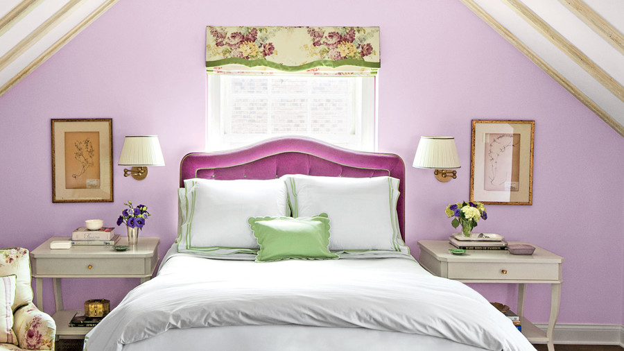 Purple Bedroom. 10 Tricks to Make Your Bedroom Feel Extra Cozy   Southern Living