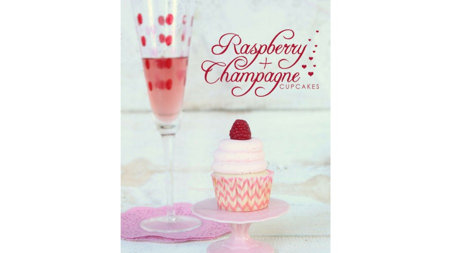 Raspberry Champagne Cupcakes