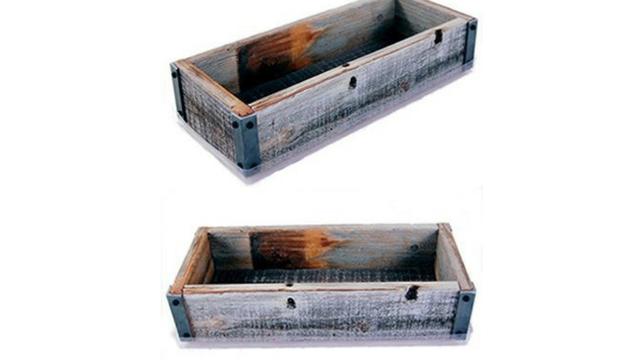 Pots for Indoor Plants barnwood