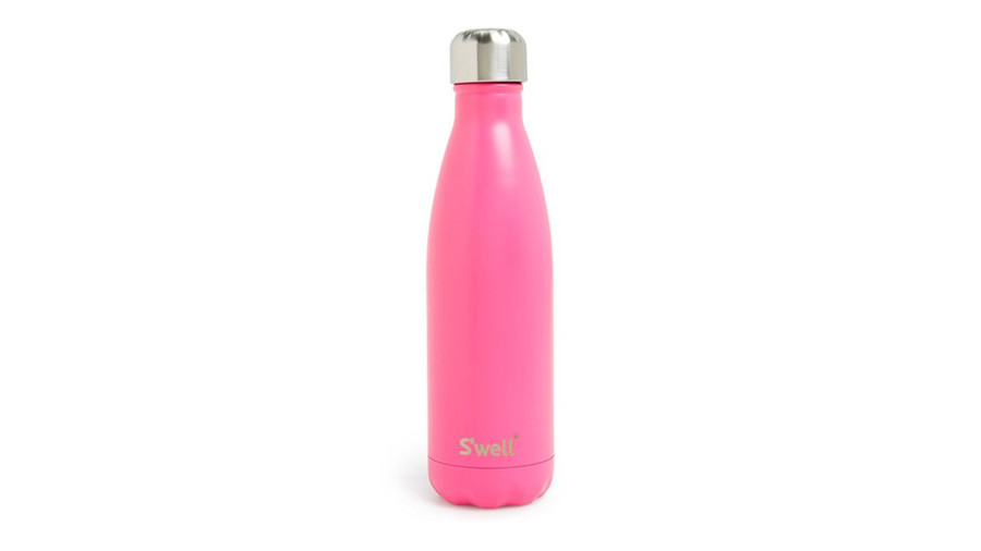 Hand-Painted Pink S'Well Bottle