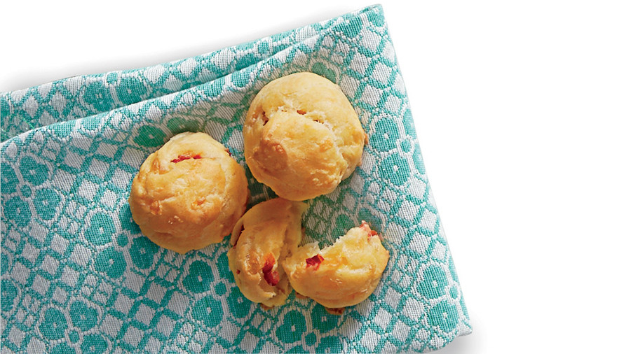 Pimiento Cheese Gougeres