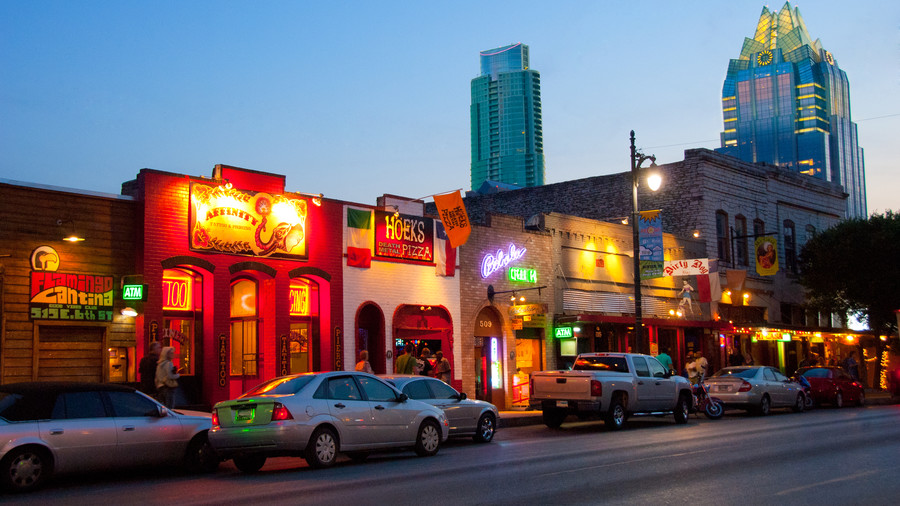 South's Most Colorful Streets 6th Street, Austin (TX)