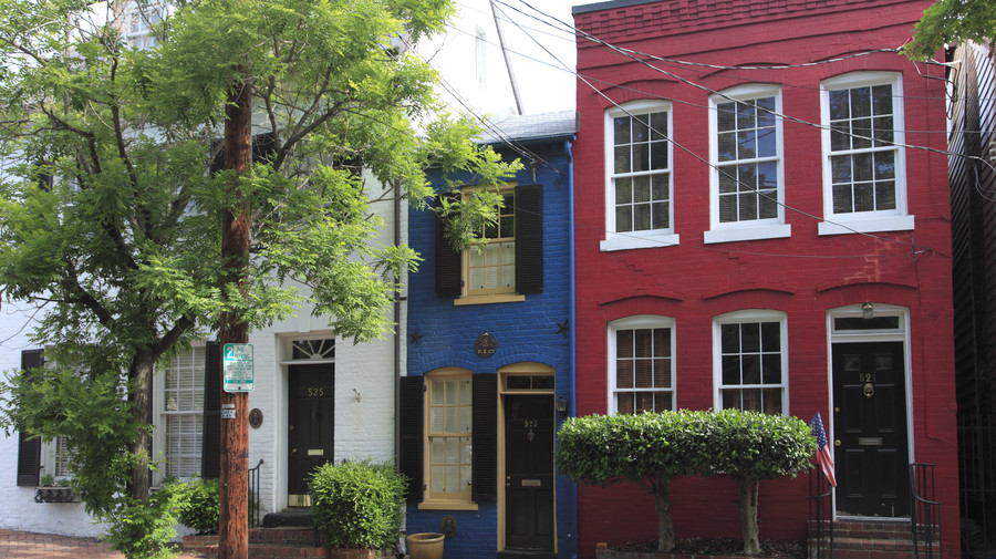 South's Most Colorful Streets Queen Street, Alexandria (VA)