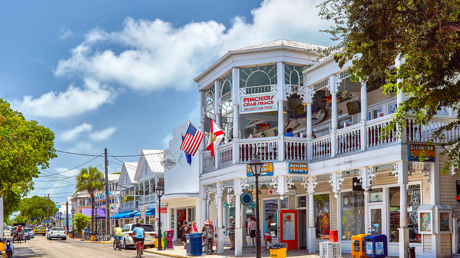 South's Most Colorful Streets Duval Street, Key West (FL)