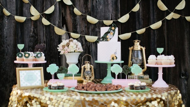 Girl Scouts Bridal Shower