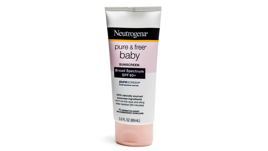 Neutrogena Pure & Free Baby Sunscreen Lotion SPF 60+