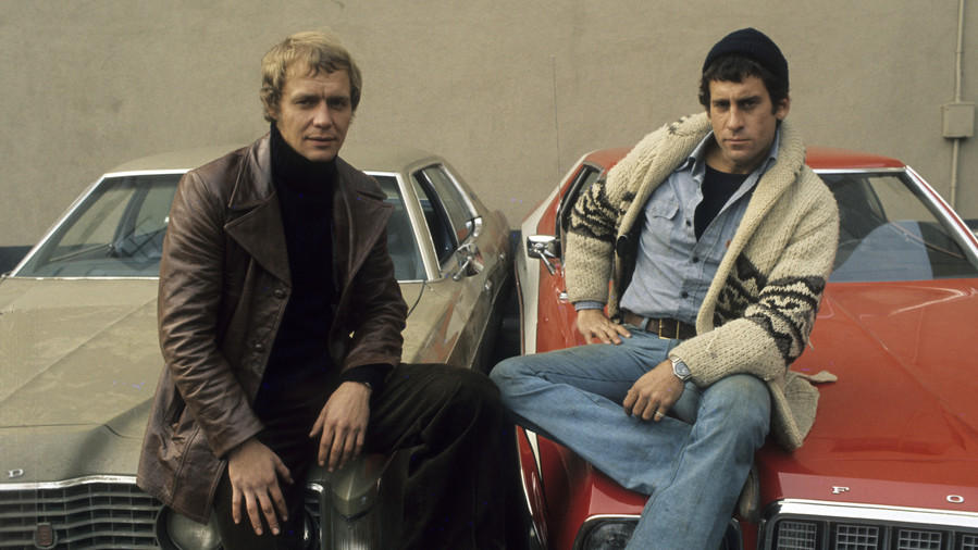 Paul Michael Glasser and David Soul