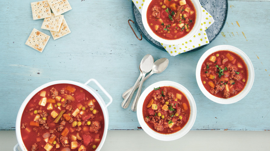 Chunky Vegetable Beef Soup