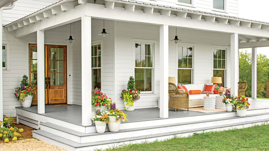 Images Of Painted Porch Color Combinations