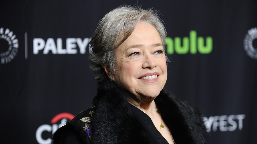 Kathy Bates on Red Carpet
