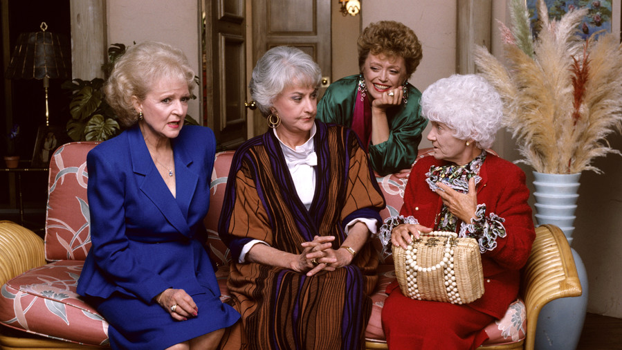 Dorothy, Rose, Blanche, and Sophia: The Golden Girls