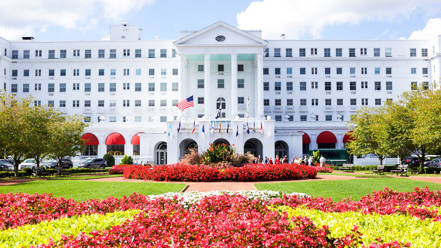 3. Check into The Greenbrier