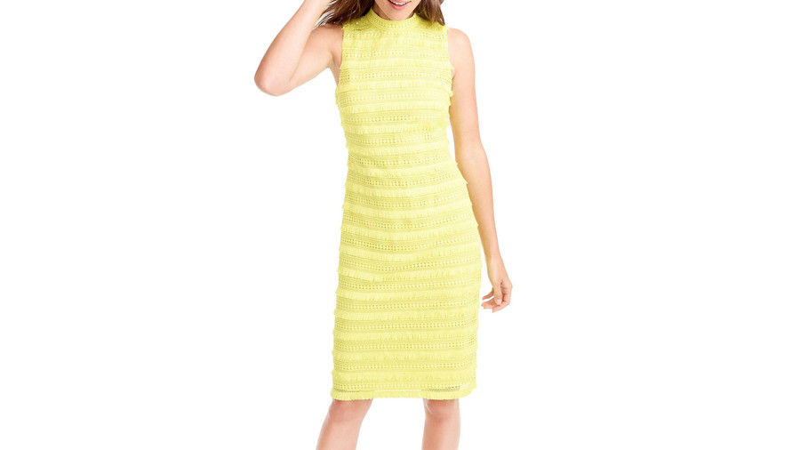 Bright Yellow Spring Dress