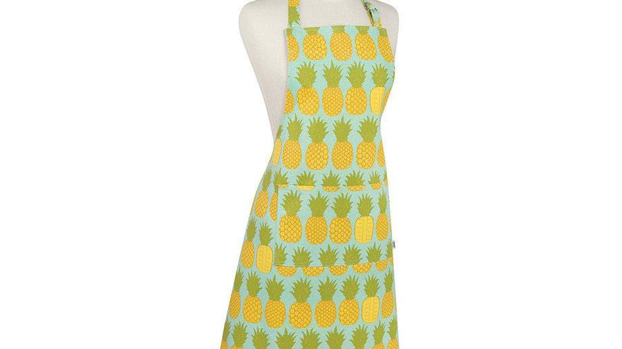 Kitchen Chef's Apron, Pineapples Print
