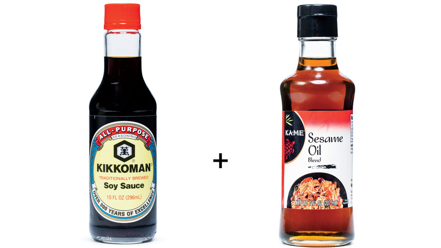 Soy Sauce and Sesame Oil Marinade