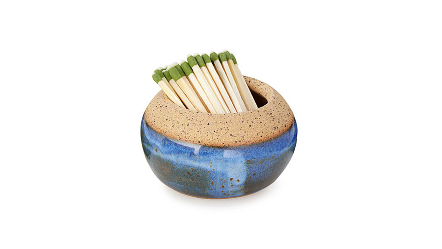 Stoneware Match Striker